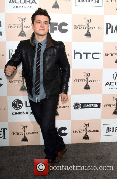 Josh Hutcherson The 2011 Film Independent Spirit awards...