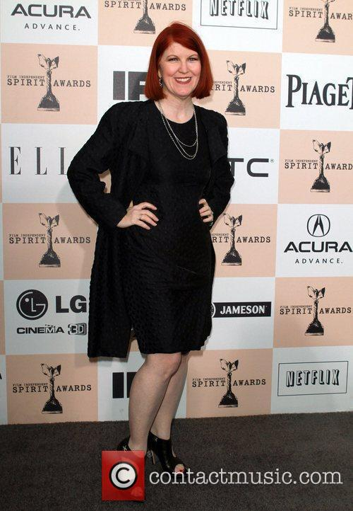 Kate Flannery The 2011 Film Independent Spirit awards...
