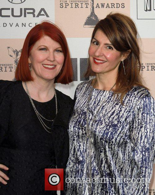 Kate Flannery and Nia Vardalos The 2011 Film...
