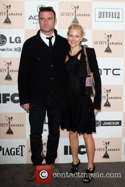 Liev Schreiber and actress Naomi Watts The 2011...