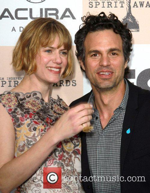 Mark Ruffalo and wife Sunrise Coigney The 2011...