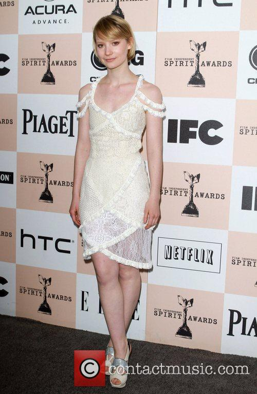 Mia Wasikowska, Independent Spirit Awards and Spirit Awards 11