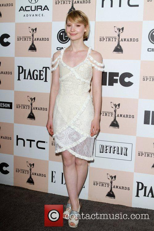Mia Wasikowska, Independent Spirit Awards and Spirit Awards 7
