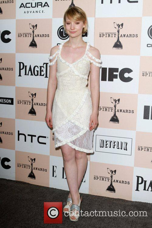 Mia Wasikowska, Independent Spirit Awards and Spirit Awards 10