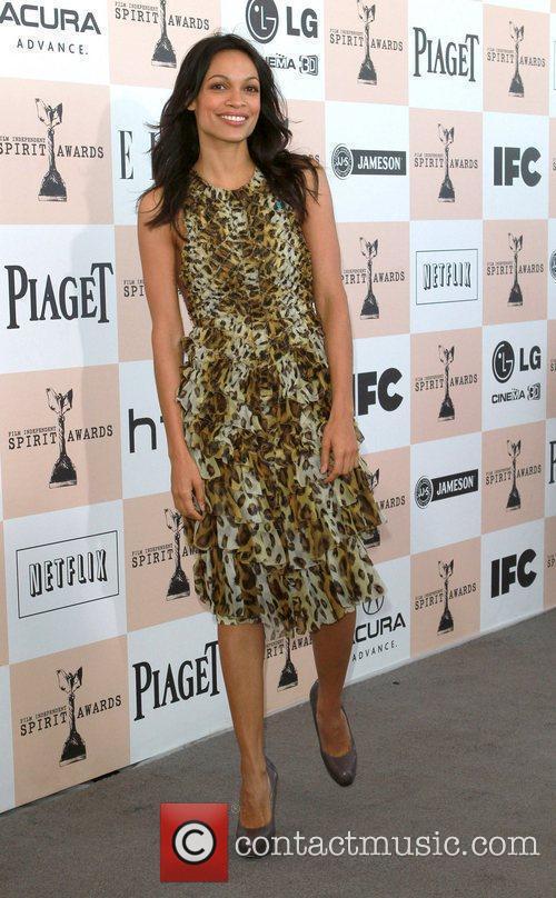 Rosario Dawson, Amanda Peet, Independent Spirit Awards and Spirit Awards 1