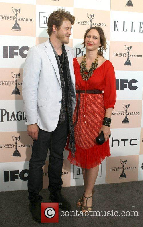 Renn Hawkey and actress Vera Farmiga  The...
