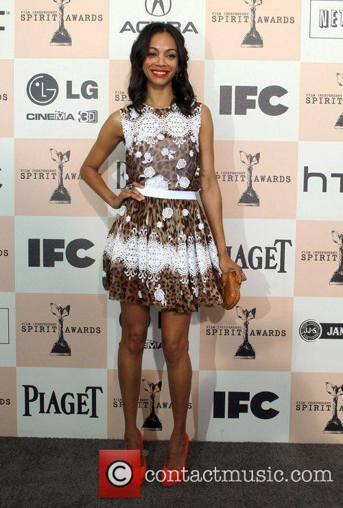 Zoe Saldana, Independent Spirit Awards and Spirit Awards 11