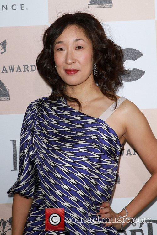 Sandra Oh The 2011 Film Independent Spirit awards...