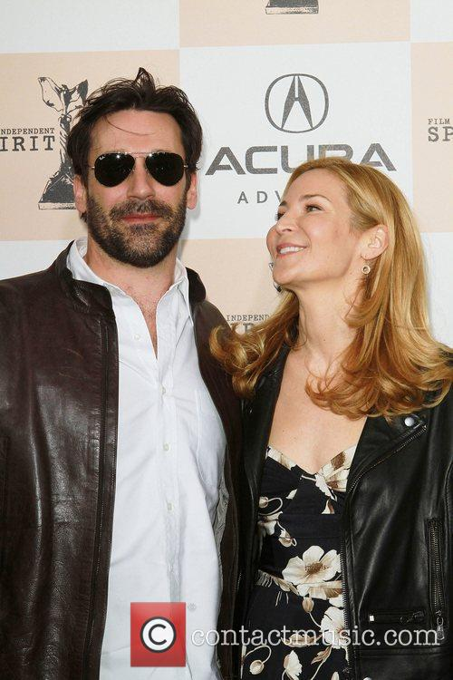John Hamm and Wife The 2011 Film Independent...