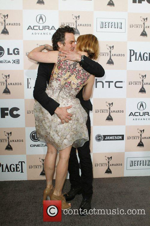 Marc Ruffalo and wife The 2011 Film Independent...