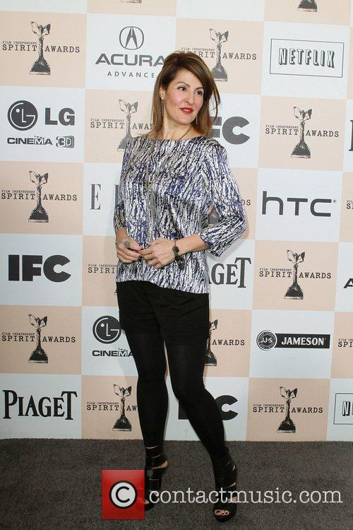 Nia Vardalos The 2011 Film Independent Spirit awards...