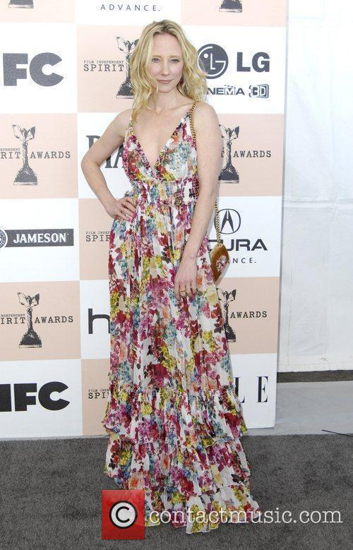 Anne Heche The 2011 Film Independent Spirit awards...