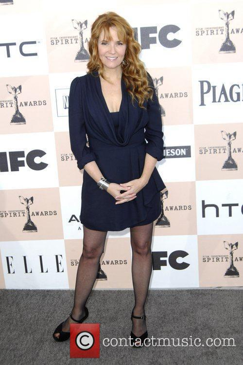 Lea Thompson The 2011 Film Independent Spirit awards...