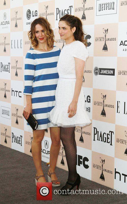 Sarah Paulson and Amanda Peet The 2011 Film...
