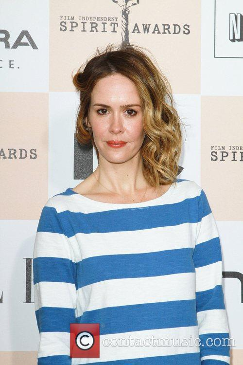 Sarah Paulson The 2011 Film Independent Spirit awards...