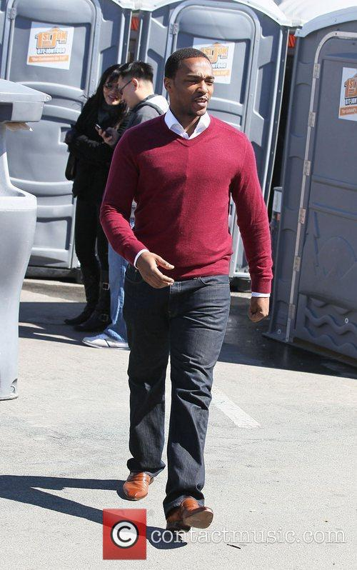 Anthony Mackie The 2011 Film Independent Spirit awards...