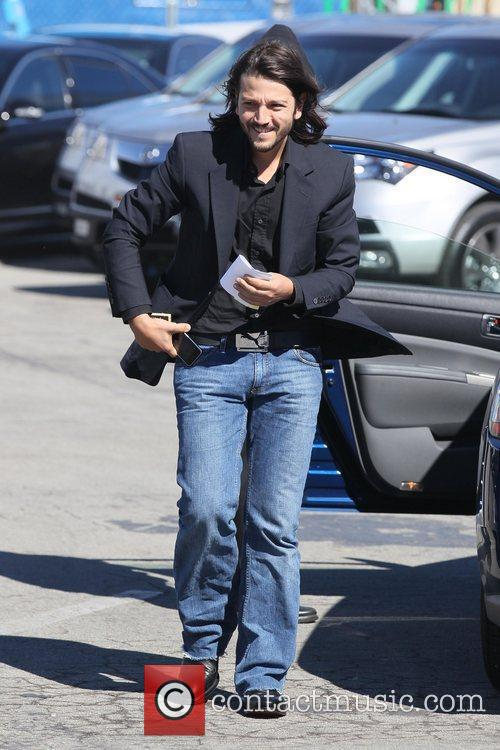 Diego Luna The 2011 Film Independent Spirit awards...