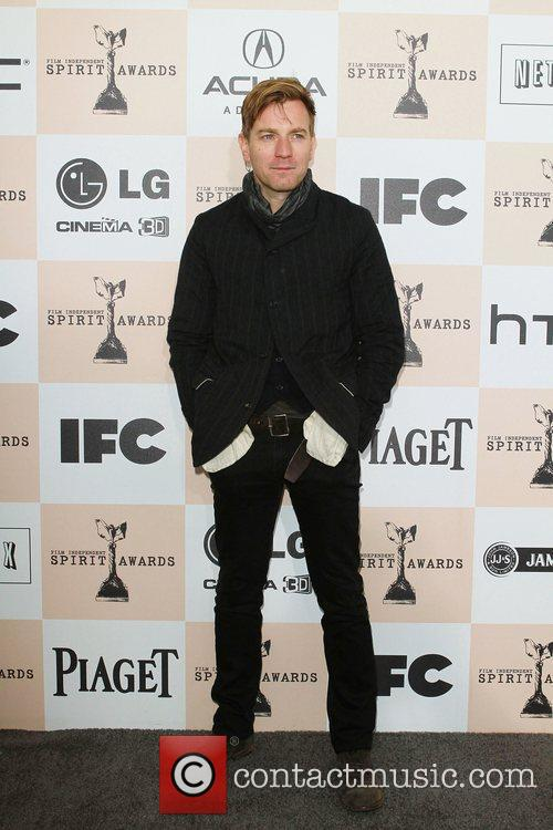 Ewan McGregor The 2011 Film Independent Spirit awards...