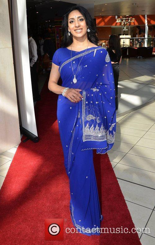 Antra Bhargava,  at the opening of The...