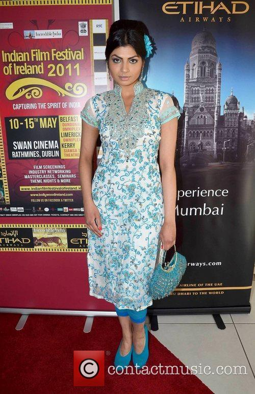 Hira Shah,  at the opening of The...