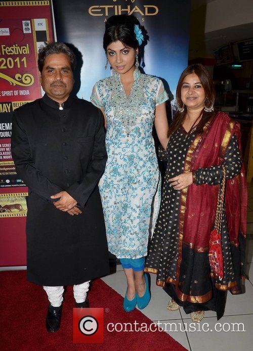Vishal Bhardawaj, Hira Shah, Rekha Bhardwaj,  at...