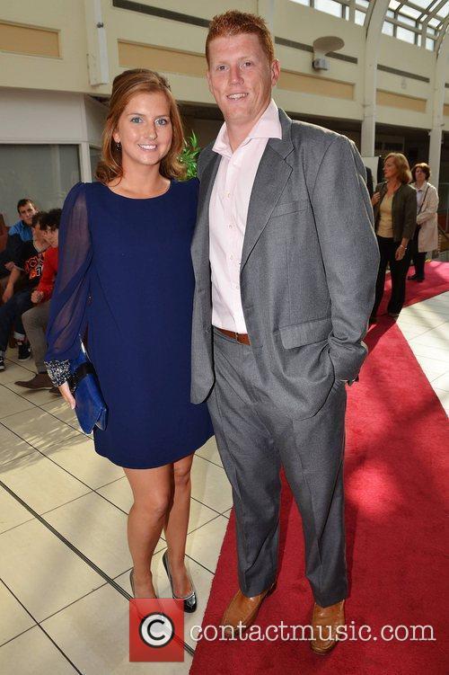 Ruth Anne Kielty, Kevin O'Brien,  at the...