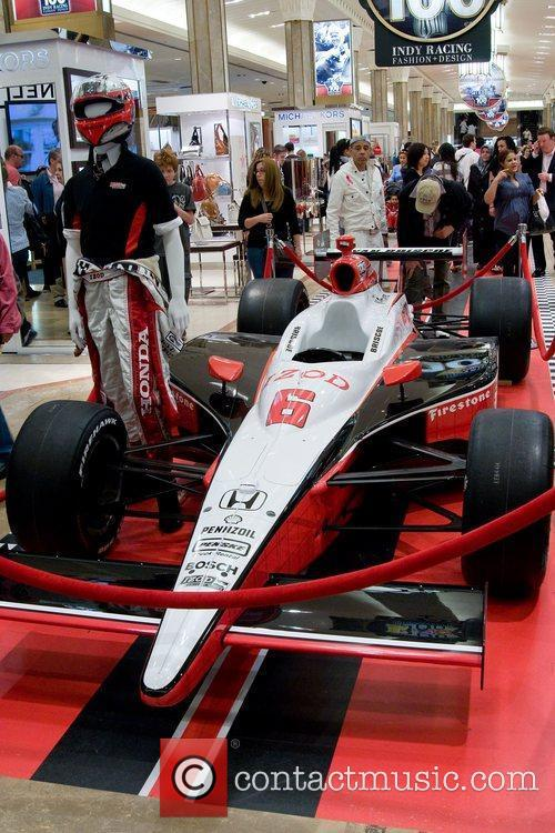 Macy's celebrates the 100th anniversary of Indianapolis 500...