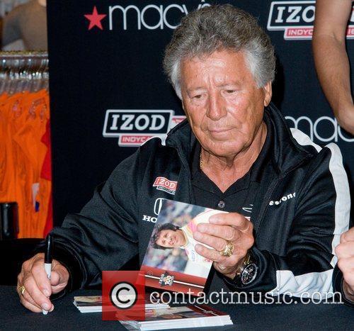 Mario Andretti Macy's celebrates the 100th anniversary of...