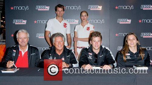 Rick Mears, Mario Andretti and Marco Andretti, Simona...