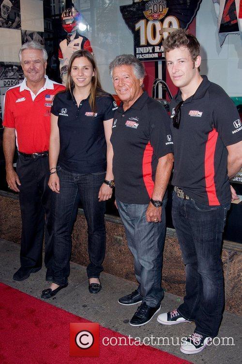 Rick Mears, Simona De Silvestro, Mario Andretti and...