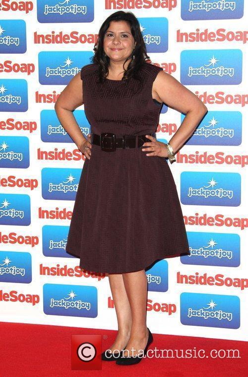Nina Wadia The 2011 Inside Soap Awards -...