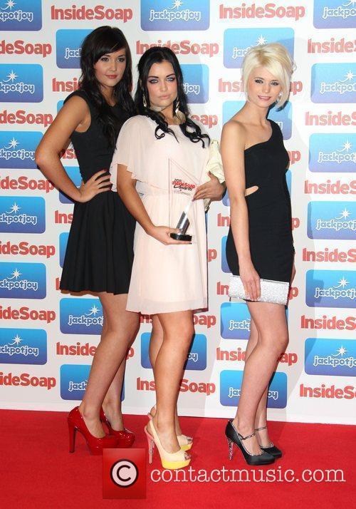 Jacqueline Jossa, Shona McGarty, Danielle Harold The 2011...