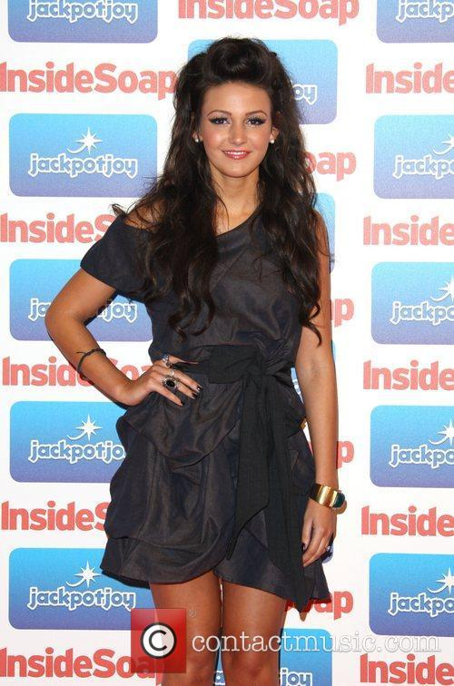 Michelle Keegan The 2011 Inside Soap Awards sponsored...