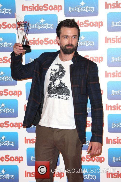 Emmett J Scanlan The 2011 Inside Soap Awards...