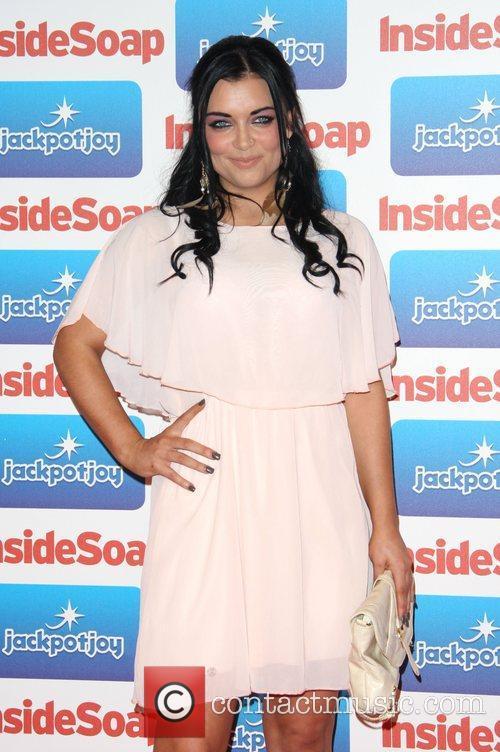 Shona McGarty The 2011 Inside Soap Awards sponsored...