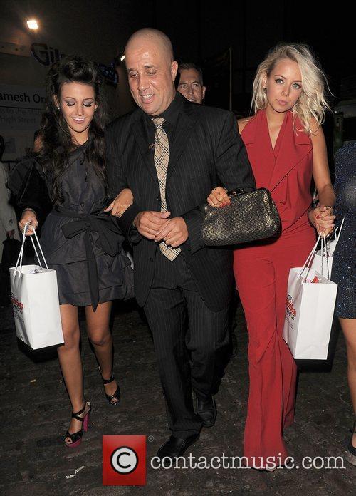 Michelle Keegan and Sacha Parkinson Inside Soap Awards...