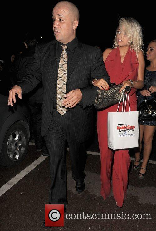 Sacha Parkinson Inside Soap Awards 2011 - Departures...