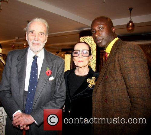 Christopher Lee and Ozwald Boateng 1