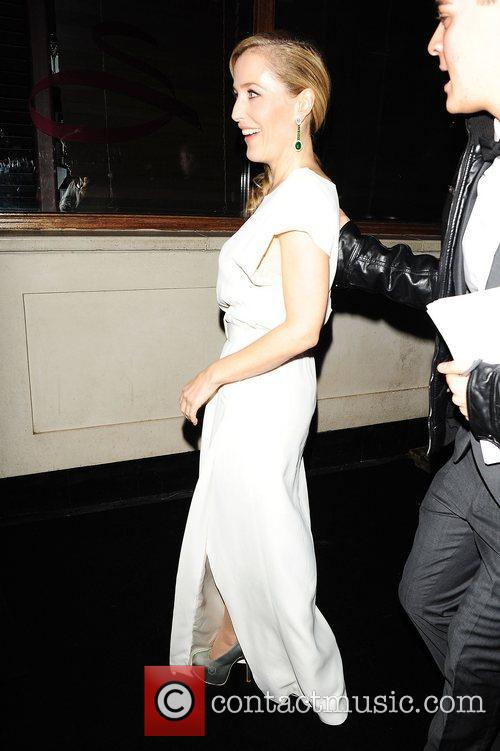 Gillian Anderson at InStyle - 10th Anniversary Party...