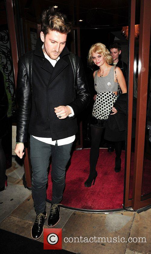 Henry Holland and Pixie Geldof at InStyle -...