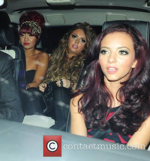 Leigh-Anne Pinnock, Jesy Nelson and Jade Thirlwall of...