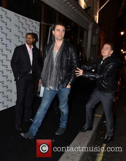 Darius Campbell  InStyle - 10th Anniversary Party...