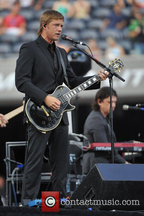 Interpol performs live in concert at Soldier Field...