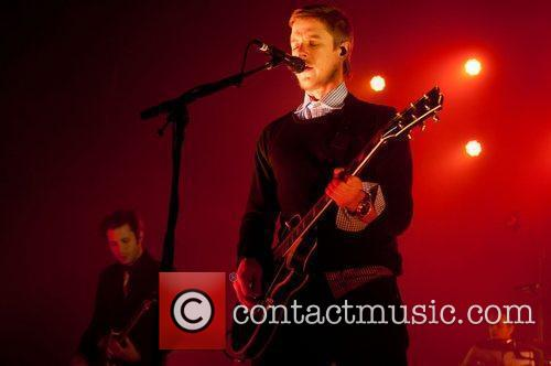 Paul Banks Interpol perform live at O2 Academy...