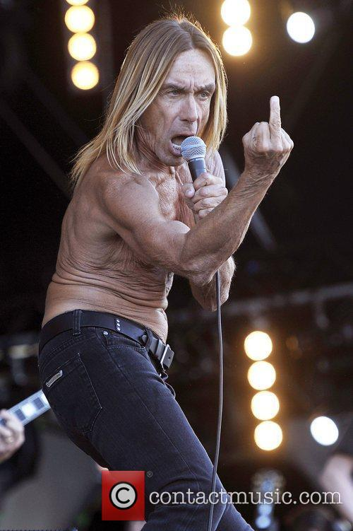 Iggy Pop and Isle Of Wight Festival 2