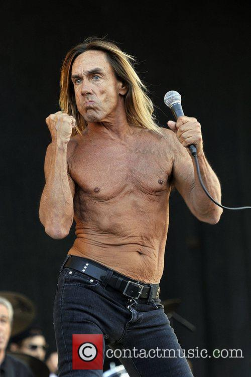Iggy Pop and Isle Of Wight Festival 1