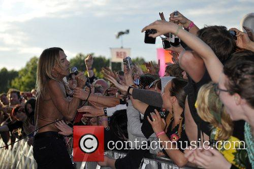 Iggy Pop and Isle Of Wight Festival 8