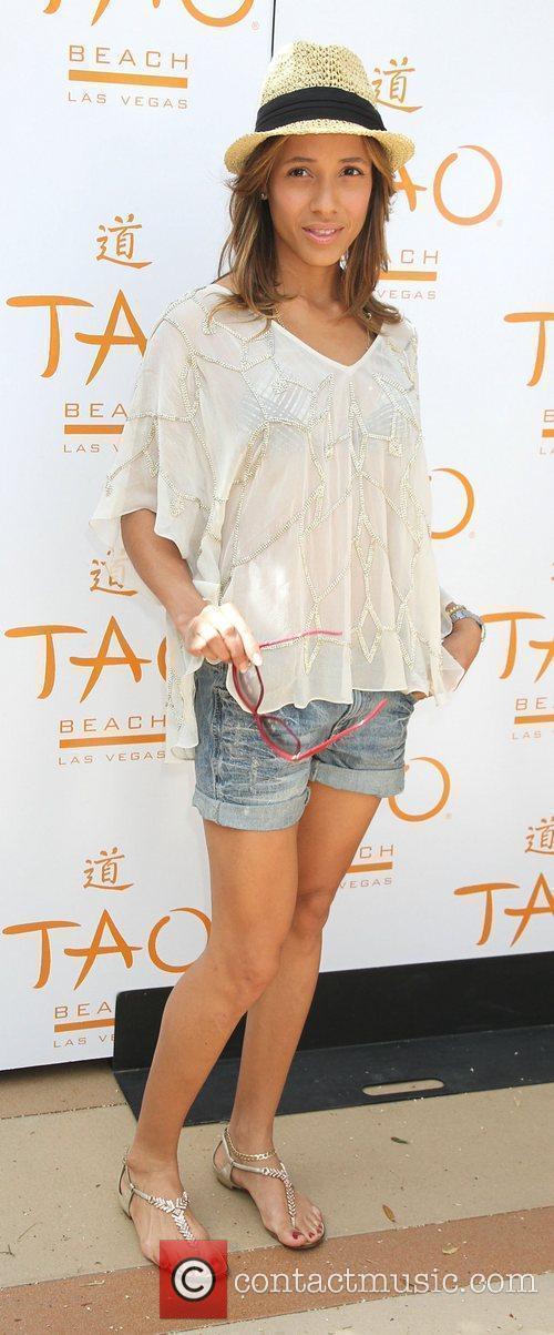 Dania Ramirez TAO Beach Season Openin held at...