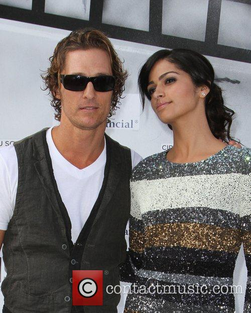Matthew Mcconaughey, Camila Alves and Kodak Theatre 1