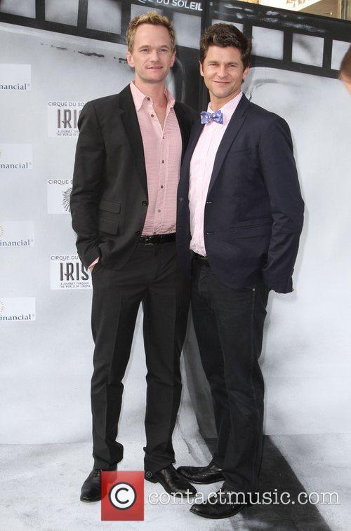 Neil Patrick Harris and David Burtka Premiere of...